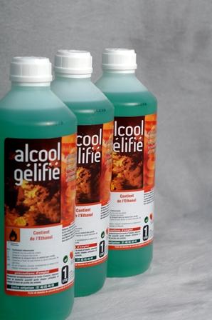 ALCOOL GELIFIE